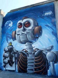 #awesomeurbanart #worldgraffiti #streetart #freewalls #streetartists #urbanartists #graffiti #art