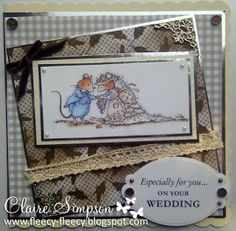 Brambly Hedge Wedding Stamp and papers from CD