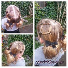 Cute elastic hairstyle #hairstylesforgirls #hairstyles #girlyhairstyles #girlshairstyles