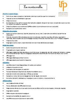 Les incontournables de la classe en cas d'inspection | BLOG GS CP CE1 CE2 de Monsieur Mathieu NDL