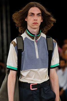 See detail photos for Lanvin Spring 2018 Menswear collection.
