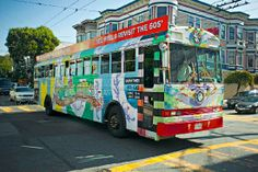 Feel yourself transported to 1960s San Francisco aboard Magic Bus for a fun-filled historical city tour. Become a part of the Beatnik generation, see Haight-Ashbury in the Summer of Love & visit San Francisco's Chinatown, from which eastern philosophy spread in the 1960s. Discover the landmarks and secrets of iconic neighborhoods as they are now with your own eyes, and see the past come alive with retractable projection screens that occasionally cover the windows, giving you a look back in…
