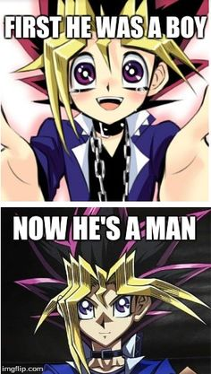 Our little Yugi's grown up!<<<<