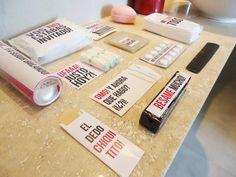 kit toilette imprimible para casamiento evento baño sticker