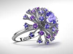 Spark Tanzanite Ring