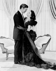Clark Gable and Vivien Leigh publicity shot for Gone With the Wind 1939
