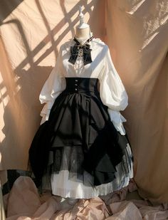 Time Temple -The Night Prayer- Vintage Gothic Lolita Skirt