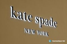 3d-led-side-lit-signs-with-black-acrylic-front-panel-for-kate-spade