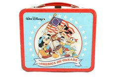 A personal favorite from my Etsy shop https://www.etsy.com/listing/462443649/1976-disneys-america-on-parade-metal
