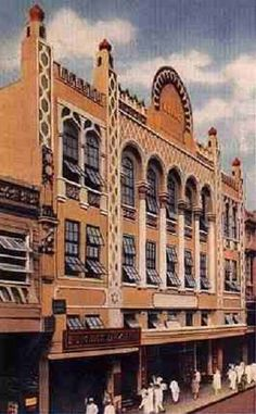 Lyric Theater - one of the beautiful heritage buildings in Manila that no longer exists