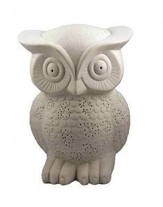 Pigment - Matte Porcelain Owl Lamp, $45.00 (http://www.shoppigment.com/matte-porcelain-owl-lamp/)