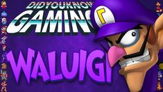 Waluigi - Did You Know Gaming? Lucahjin Due to Nintendo's continued lack of attention towards Waluigi, Did you recognize. Video Game Facts, Nintendo Characters, Trending Videos, Amazing Adventures, Did You Know, Gaming, Card Games, Watch, Youtube
