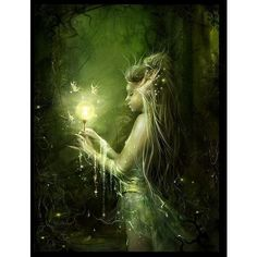 belles images - Page 36 ❤ liked on Polyvore featuring backgrounds, people, fantasy, fairies and art
