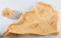 Betty's Tunisian Tee: The First Body Block - CrochetMe