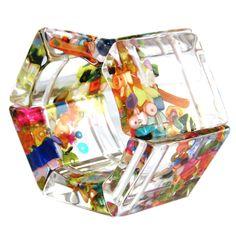 Hexagon Cascade Stretch Bracelet by Sobral