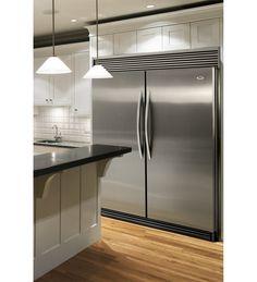 Whirlpool Sidekick side-by-side fridge and freezer duo.