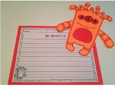 This pack is going to be a favorite amongst your students! There are 5 wacky monsters that the students can make. There are 2 construction options provided. One option is a printable that the students color and construct or the templates that you can print on colored paper and have the student construct.