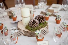 A Moss Green + Brown Snowy Woodland Themed Wedding - Niki & Glen | OMG I'm Getting Married UK Wedding Blog | UK Wedding Design and Inspiration for the fabulous and fashion forward bride to be.