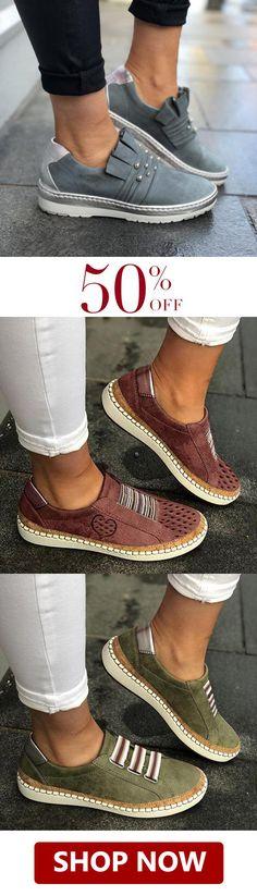 Flache Schuhe : Einzigartiger Stil Young Fashion Damen