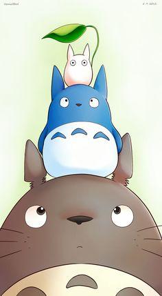 Totoro et ses amis, ils sont trop mignons ♥