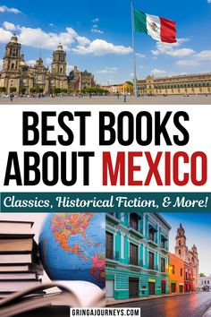 Find out the 20 best books about Mexico, including Mexican history books, classic books, and more! This list features books such as The Savage Detectives by Roberto Bolaño, The Broken Spears: The Aztec Account of the Conquest of Mexico by Miguel León-Portilla, and The Underdogs by Mariano Azuela. | books about mexico culture | best books about mexico history | best books by mexican authors Travel Info, Usa Travel, Travel Guides, Travel Tips, Cozumel, Tulum, México Riviera Maya, Learn Spanish Online, Mexico Culture