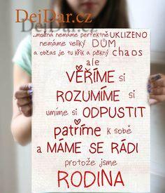 Dárek pro rodinu, pravidla rodiny trochu jinak Rodin, Motto, Scrapbook, Cover, Books, Inspiration, Nostalgia, Livros, Biblical Inspiration