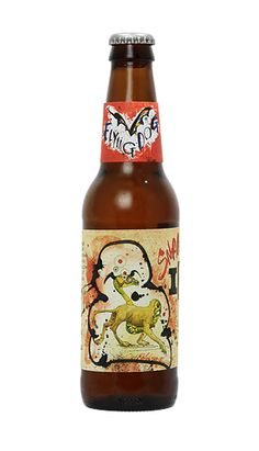 Snake Dog Flying Dog Brewery, Not only did my fav artist create the labels, this beer will knock you on your ass! 9-10