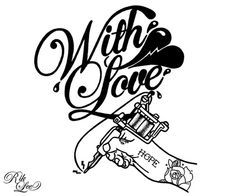 With Love - © Rik Lee This badboy appearing on t-shirts soon!