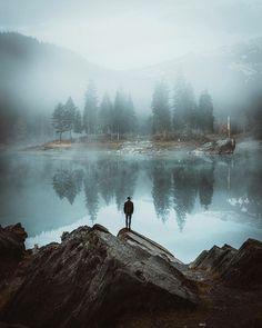 morning mist over the lake | #seekingadventure