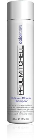 Our Platinum Blonde Shampoo is the best purple shampoo for blonde, white, silver and brunette hair. Shop Paul Mitchell products here. Paul Mitchell Color, Purple Shampoo, Shades Of Blonde, Platinum Blonde Hair, Silver Hair, Bronze Hair, Dark Makeup, Going Gray, White Hair