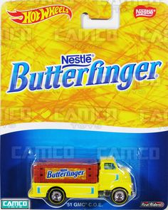 51 GMC Coe (Butterfinger) - 2016 Hot Wheels Pop Culture A Case (NESTLE) Assortment DLB45-956A