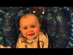 Emotional baby is moved to tears by moms singing [HD VERSION]