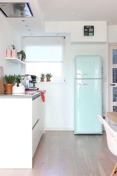Kitchen greens | Elske | www.elskeleenstra.nl #smeg