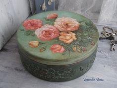 """Шкатулки ручной работы. Ярмарка Мастеров - ручная работа Шкатулка """"Розовый куст"""". Handmade."""