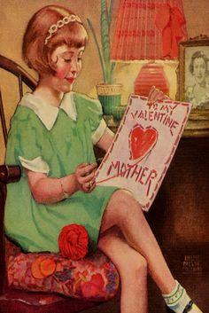 Happy Valentine's Mother, by Ralph Pallen Coleman