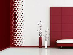 Wandbanner Design Punkte