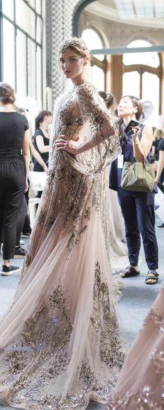 Zuhair Murad Sonbahar-Kış 2017-2018 - Haute couture - http://tr.orientpalms.com/Zuhair-Murad-6841 - ©ImaxTree