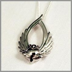 The Winged Claddagh is still one of my favorites.An Irish Claddagh heart opened to love and free to transcend all known faith, love and loyalty. Jewelry Gifts, Jewelry Box, Jewelery, Irish Symbols, Irish Jewelry, Irish Eyes, Fashion And Beauty Tips, Sterling Jewelry, Claddagh