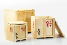 inbox mini cargo crates by labyrinth