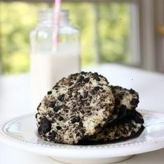 Oreo cheesecake cookies...