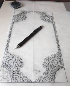 Islamic Art Pattern, Pattern Art, Plant Drawing, Islamic Art Calligraphy, Turkish Delight, Henna Designs, Decoration, Flower Patterns, Elephant