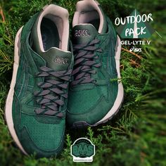 """#asics #gellyteV #Outdoorpack #sneakerbaas #baasbovenbaas  Asics Gel Lyte V """"Outdoor Pack"""" - Now Available Online, priced at € 129,95  For more info about your order please send an e-mail to webshop #sneakerbaas.com!"""