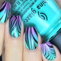 nail art designs braid fashion makeup Cool easy nail art ideas To create the perfect overall style with wonderful supporting plus size lingerie come see slimmingbodyshape… Cool Easy Nails, Easy Nail Art, Simple Nails, Trendy Nail Art, Cute Nail Art, Stylish Nails, Nail Art Stripes, Striped Nails, Ombre Nail Designs