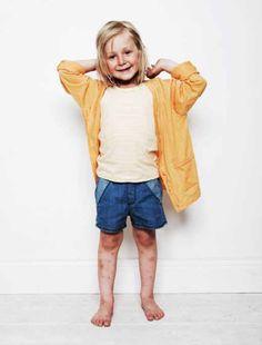 Mini Rodini: Sisilia denim shorts Via buisjesenbeugels.nl