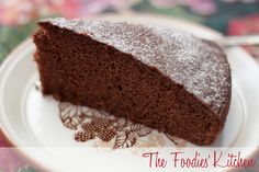 Olive Oil Chocolate Cake by The Foodies' Kitchen, via Flickr