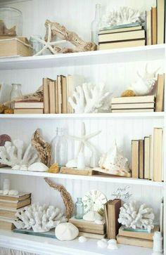 Hallway shelf deocr
