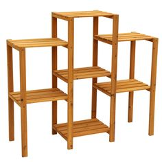 Cypress Wood 7-tier Plant Stand - Overstock™ Shopping - Great Deals on Planters, Hangers & Stands