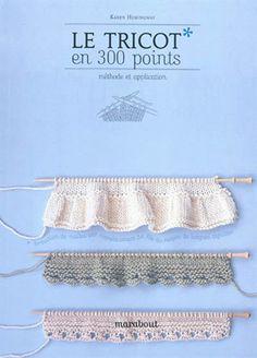 Les livres de points tricot & crochet   L'atelier de vidibio