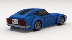 Datsun 240Z (rear view)