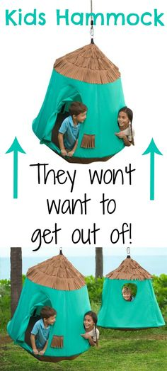 Kids Summer Activities. My kids love this outdoor hammock! Great for kids outdoor play and fun. #affiliate